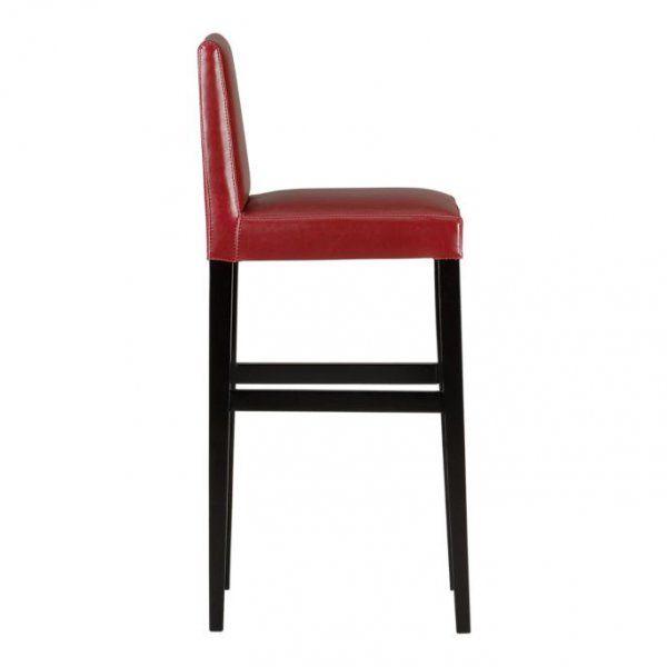 leder barhocker elegant barhocker in leder metall braun schwarz trend leder with leder. Black Bedroom Furniture Sets. Home Design Ideas